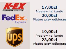 Koszt transportu na BOKS-SKLEP.PL