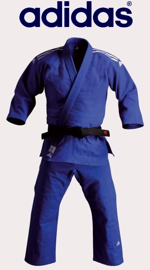 Judoga Adidas Contest niebieska plecionka, Judo suits Adidas Contest Blue
