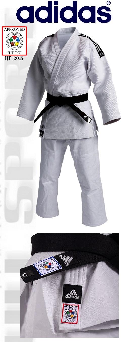 Adidas Judga Champion II IJF 2015, Adidas judo suit Champion II apprved IJF 2015