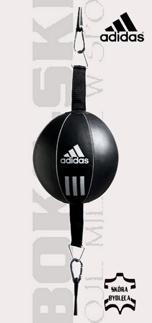 Piłka refleksówka skórzana Adidas Double End ADIBAC111 Speed ball Adidas