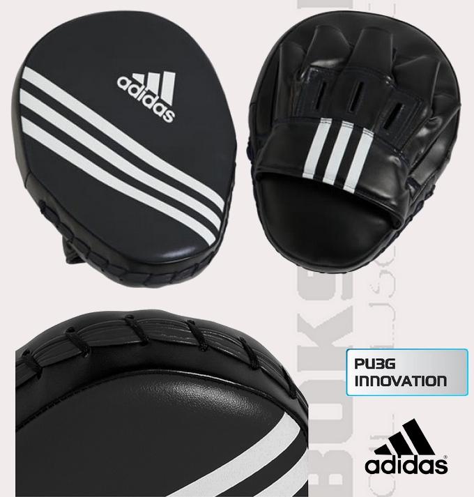 Focus Mitt Adidas Economy ADIBAC011, Łapy bokserskie miałe profilowane Adidas
