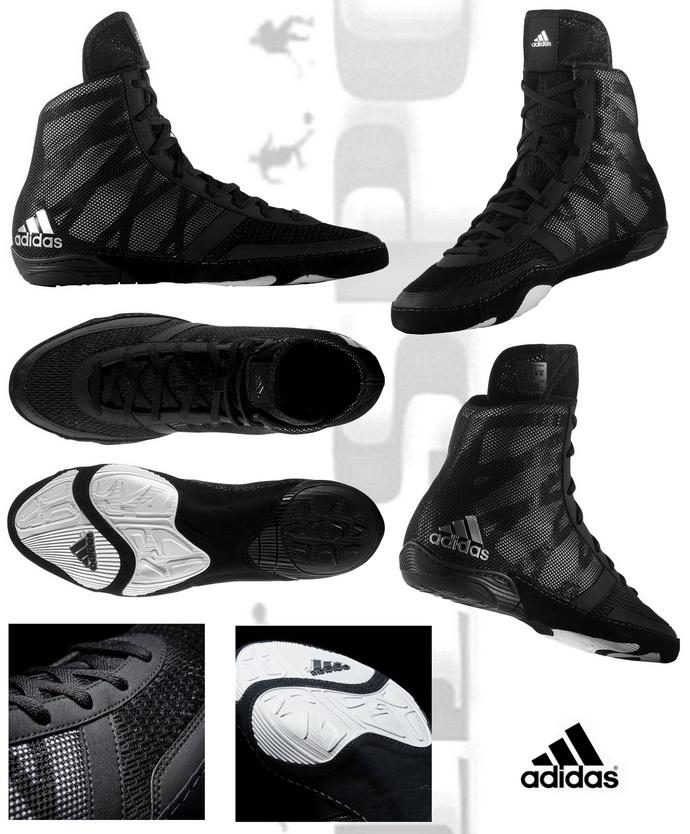 Buty zapaśnicze Adidas Preterio III Black AQ3291