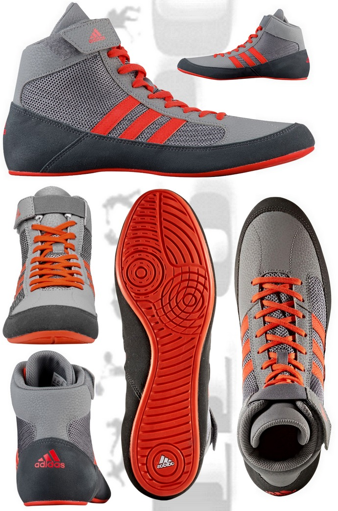 Buty Adidas Havoc 2 - HVC 2 grey-solar red