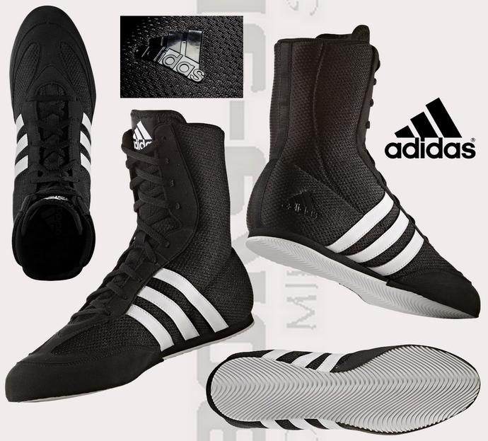 Buty bokserskie Adidas box hog 2 czarne BA7928