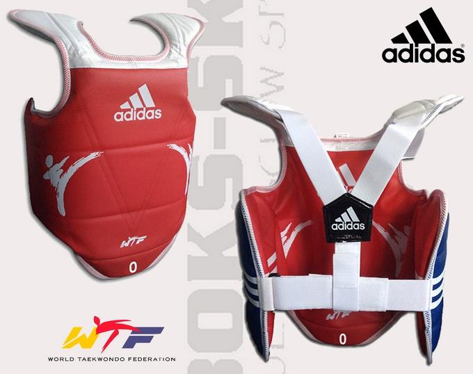 Ochraniacz tułowia do taekwondo dziecięcy Adidas aditkp01