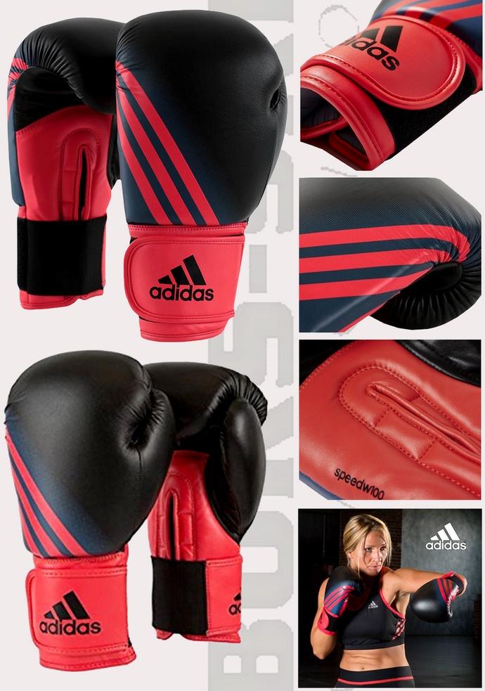 Rękawice bokserskie damskie Adidas Woman ADISBGW100