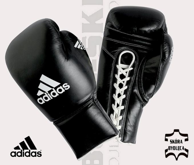 adibt09 - Profesjonalne rękawice bokserskie, do boksu zawodowego Adidas Pro, Adidas approved WBC