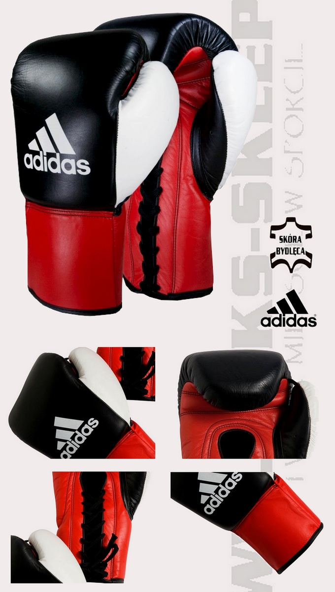 ADIBC10 Rękawice bokserskie Adidas Dynamic, Boxing Gloves Adidas Dynamic
