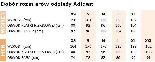 Tabela rozmiarów adidas boks-sklep.pl