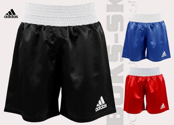 ADISMB01 spodenki bokserskie Adidas Multiboxing czarno-białe