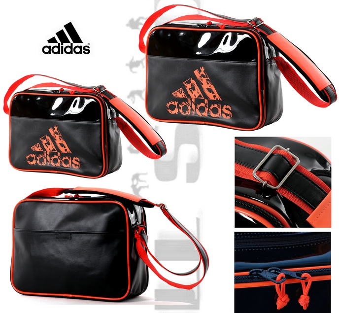 adiacc110cs3 torba na ramię Adidas black-orange