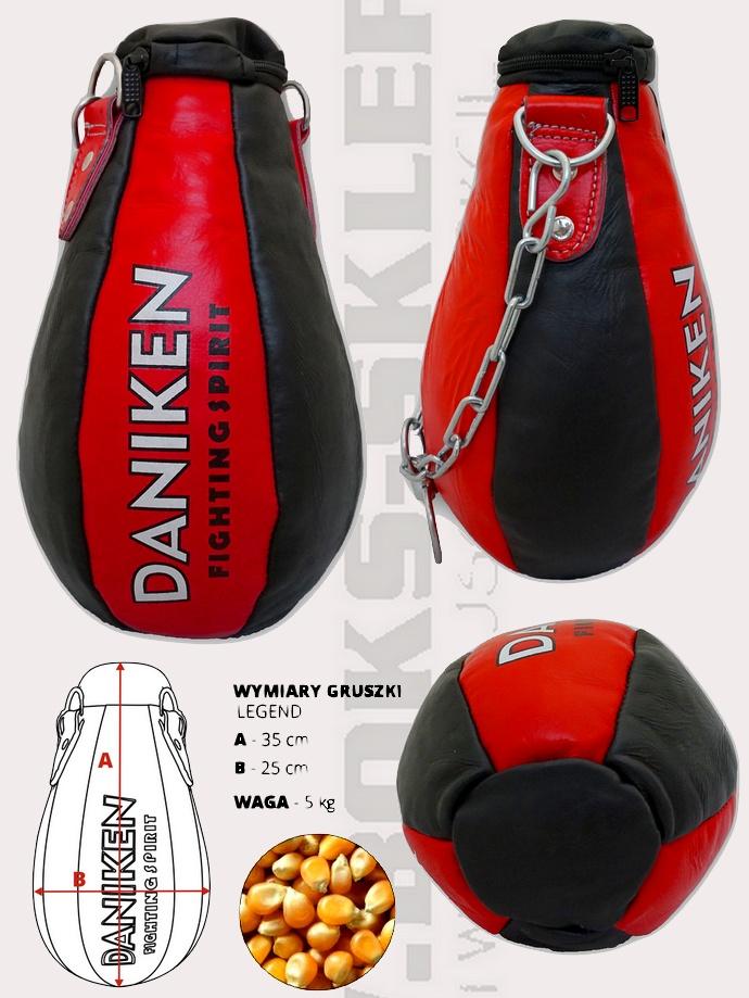 Worek gruszka Legend Daniken skóra naturalna 5kg