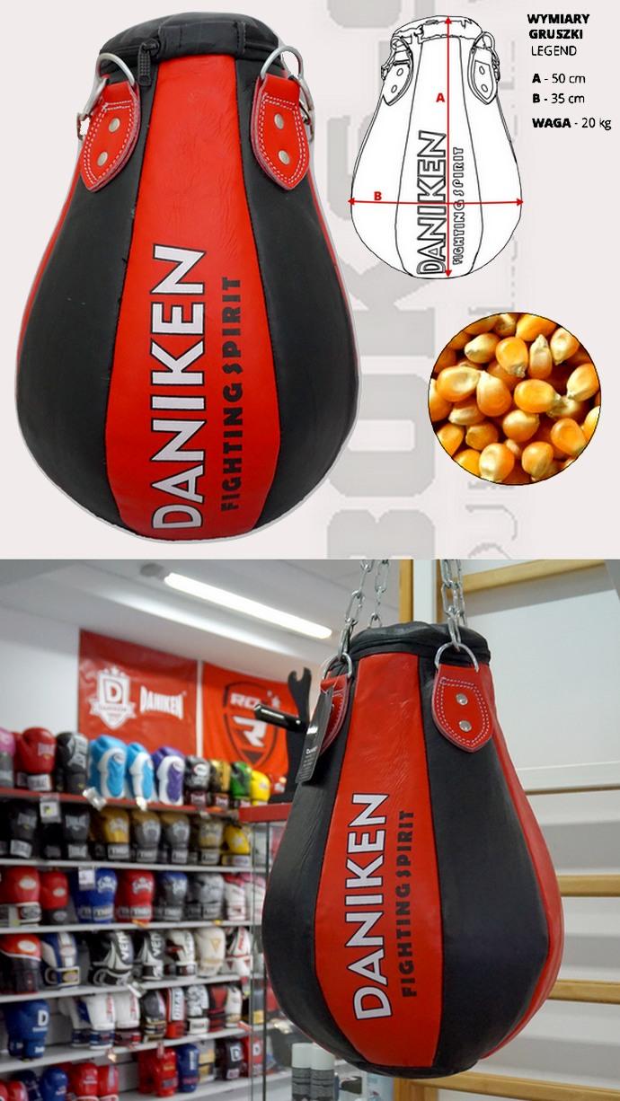 Worek bokserski gruszka kukurydziana Daniken Legend 20kg