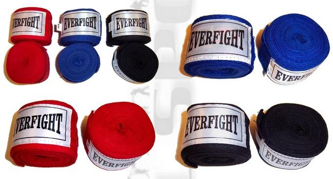 Bandaże bawełna Everfight 3,5m i 4m