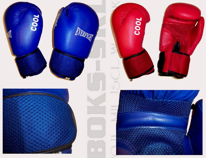Rękawice dziecięce bokserskie Everfight Cool 6oz, Boxing gloves children Everfight Cool 6oz