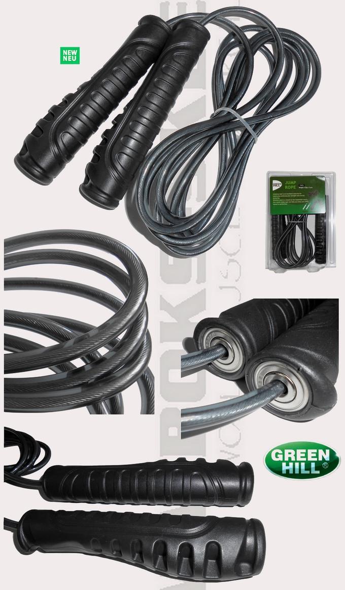 Skakanka metalowa Green Hill JRS-6256, Skipping rope Green Hill