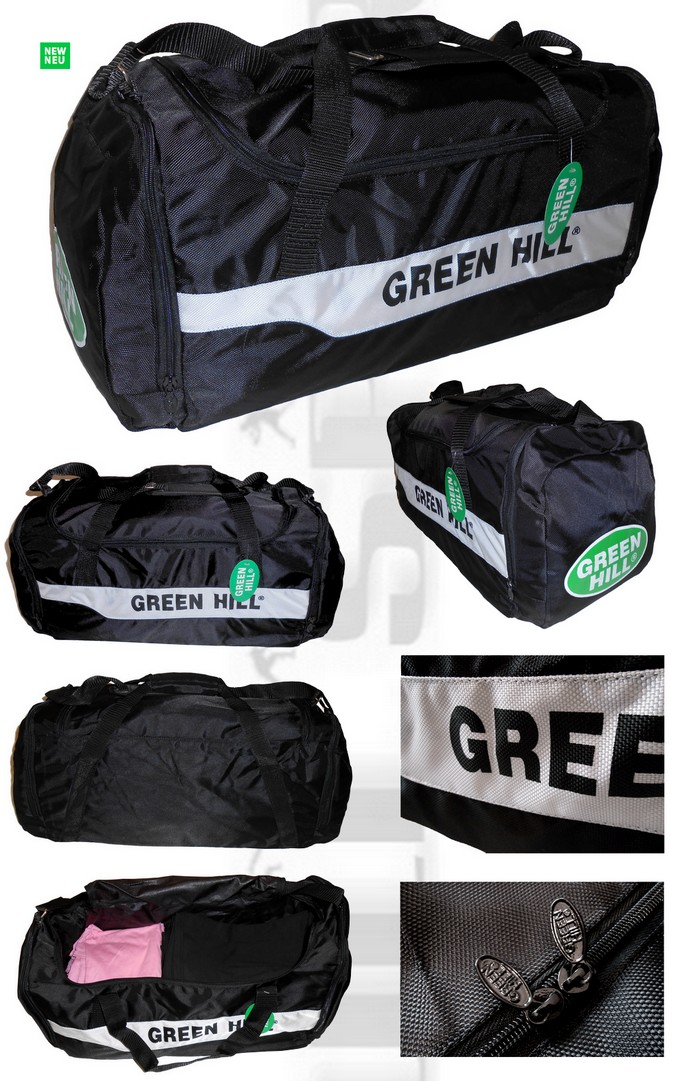 SB-6464 Torba sportowa Green Hill Pro, Travel Bag Green Hill, Sport Bag Green Hill SB-6464