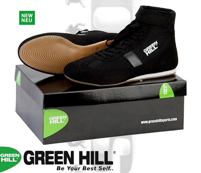Buty bokserskie Green Hill czarne SSB-1802 model 2018