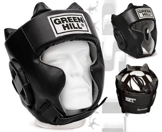 Kask bokserski sparingowy Green Hill Sparing model 2016 skóra syntetyczna HGS-9409