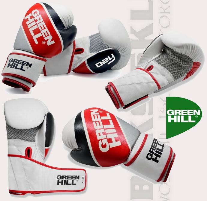 Rękawice bokserskie Green Hill F120 model BGF-2270 skóra syntetyczna