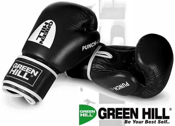 Rękawice bokserskie Green Hill Punch-II model BGP-2007 czarny