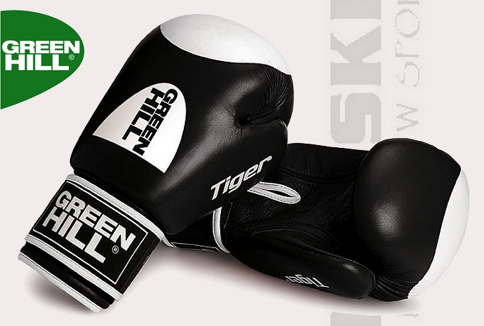 Rękawice bokserskie Green Hill Tiger 2016 Black 12oz