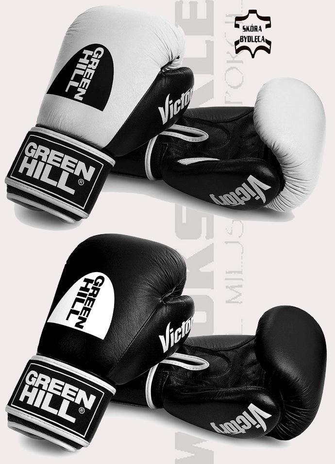 Rękawice bokserskie Green Hill Victory