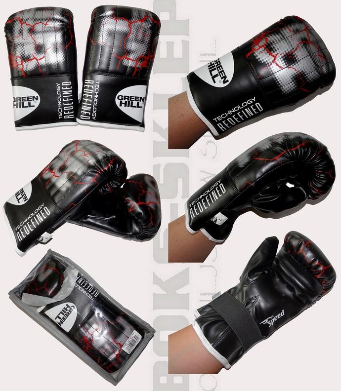 Rękawice na worek Green Hill Speed PMS-2081