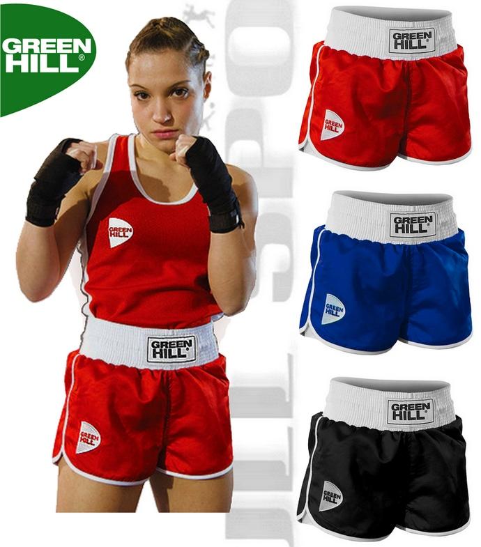 Spodenki bokserskie damskie Green Hill Lucy BSL-3794