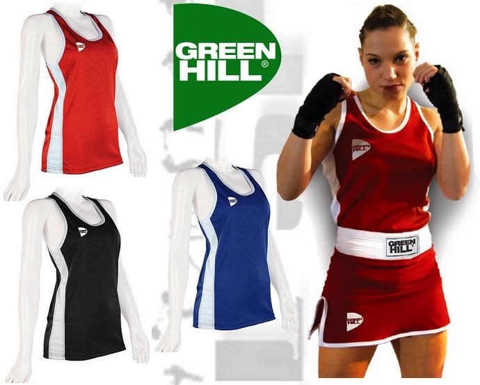 Koszulka damska bokserska Green Hill ELLE BVE-3802W