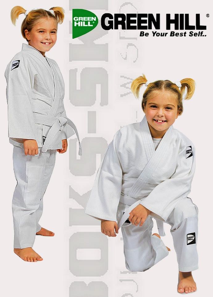Strój do judo i strój do aikido Green Hill Kids JSK-10464B strój do judo dziecięcy