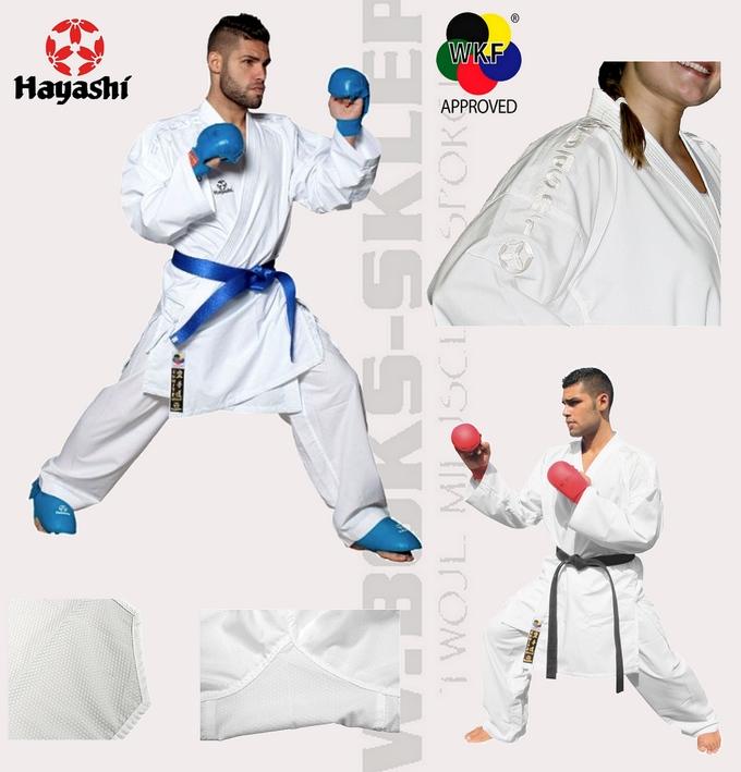 047-1 Strój do karate Hayashi, Karategi Hayasji Deluxe Kumite