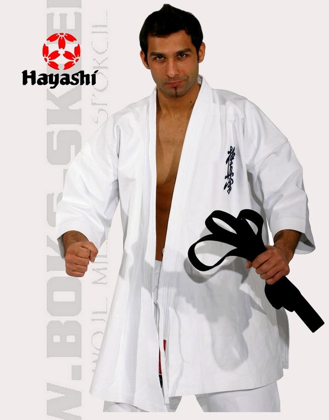 026-1 Strój do karate kyokushinkai, Karategi Hayashi Kyokushinkai