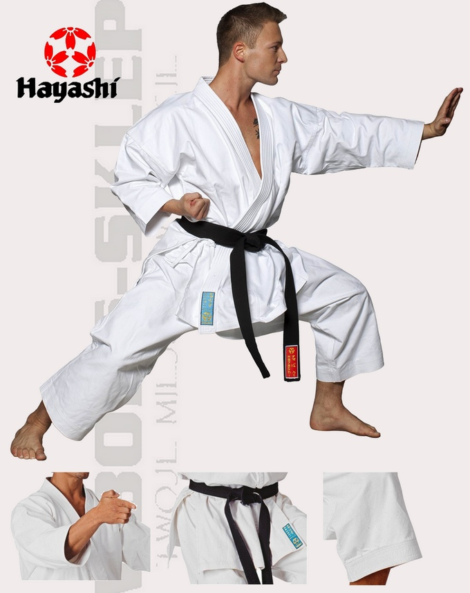 028-1 Karatega Hayashi Legend, Strój do karate Hayashi Legend, Karate Kata Suits Hayashi Legend