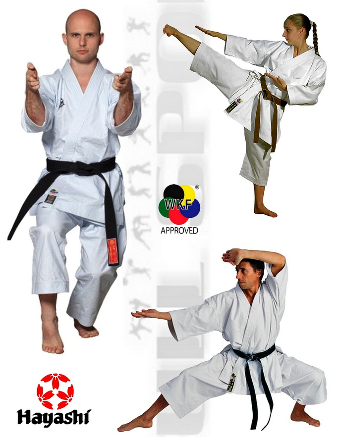 027-1 Strój do karate Kata Hayashi Tenno, Suits Karate Kata Hayashi Tenno WKF