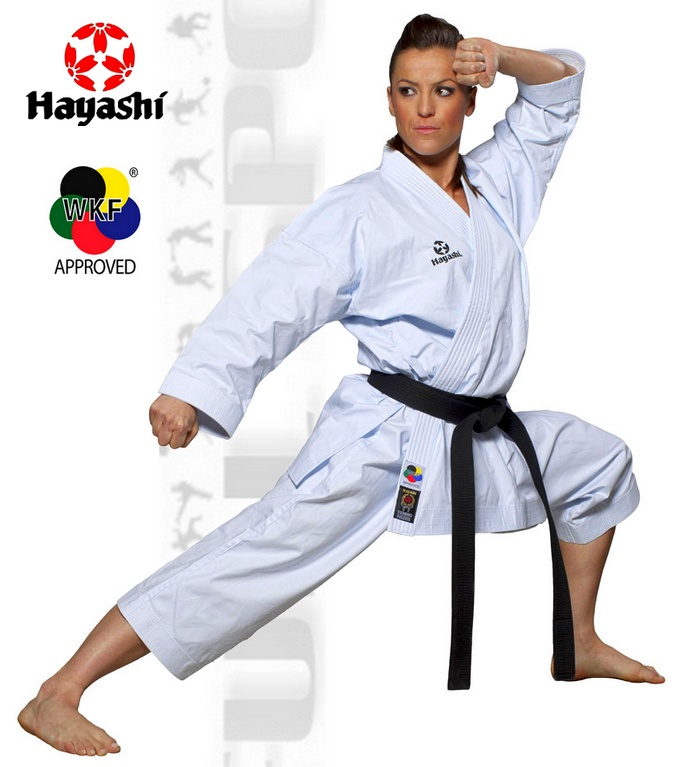049-1 Karate suits Hayashi Tenno Premium WKF, Strój do karate Kata Hayashi Tenno Premium