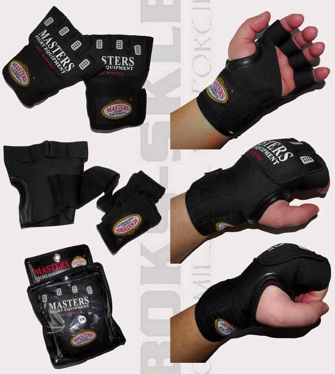 BBŻ-MFE Rękawiczki pod rękawice żelowe z bandażem poliestrowym