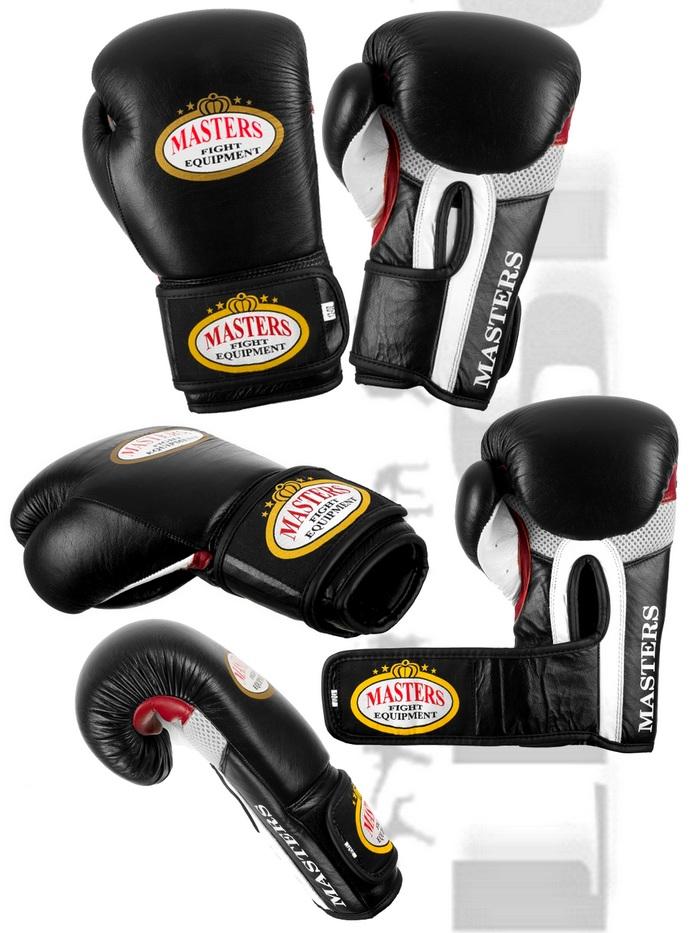 Rękawice bokserskie Masters RBT-11 skórzane 12oz