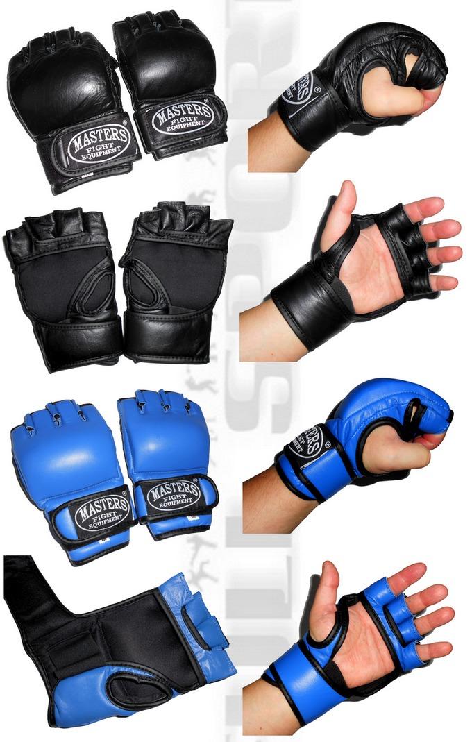 Rękawice MMA do grapplingu Masters GF-3, Gloves MMA grappling gloves Masters GF3