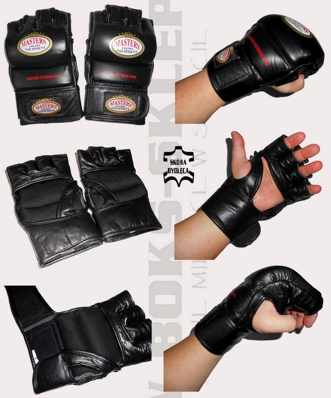 Rękawice skórzane MMA Masters GF-5, MMA Gloves leather Masters GF-5