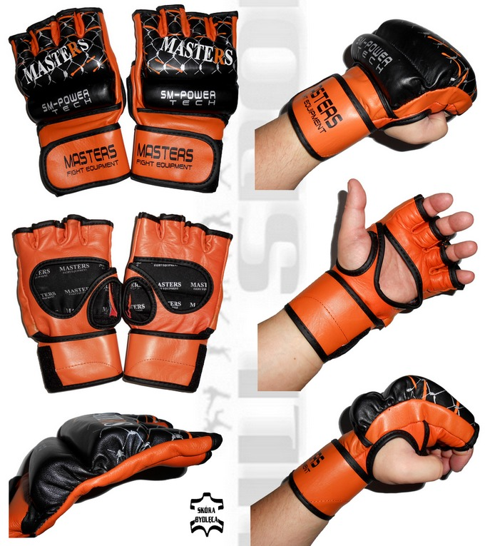 Rękawice MMA turniejowe Masters GFT-4000, MMA gloves turniej Masters GFT-4000