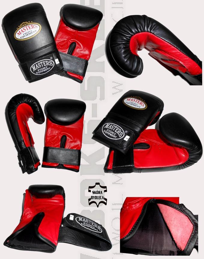 Rękawice na worek skórzane Masters RP-4, Leather bag gloves Masters RP4