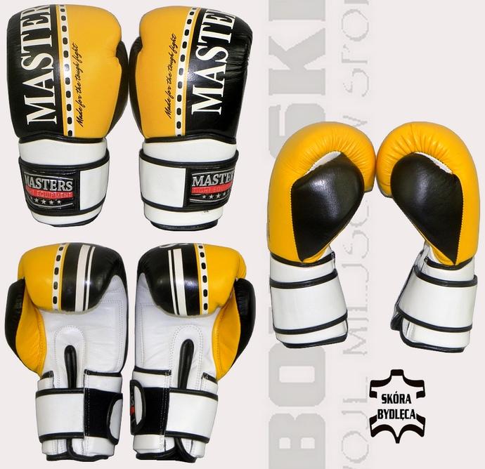 Rękawice bokserskie Masters RBT-V