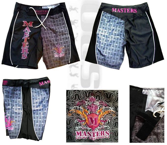 Spodenki do MMA i sportów walki Masters SM-7000