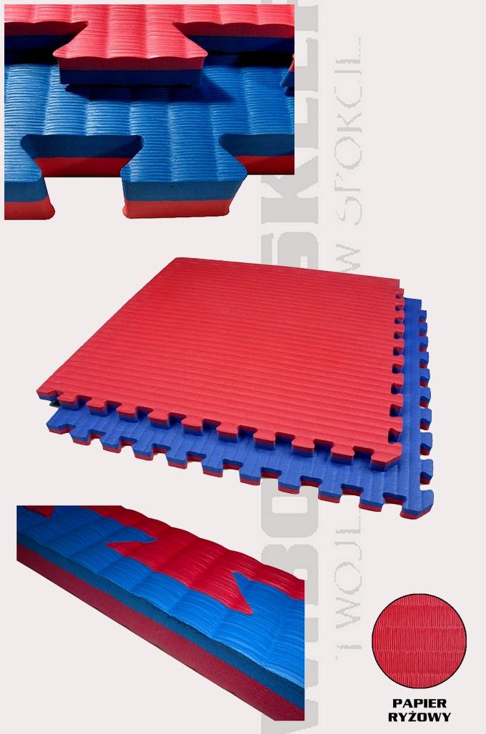 Mata puzzle EVA SHOGUN 2cm dwu-kolorowa