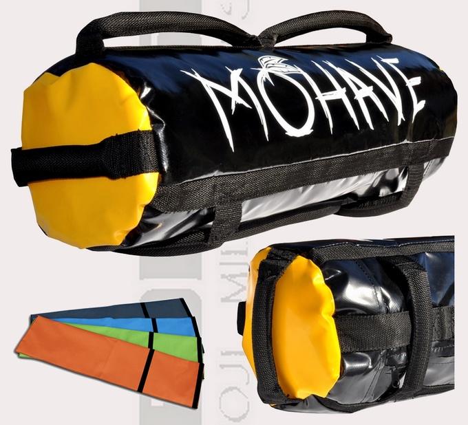 Sandbag Mohave, worek sandbag, sandbag plawil 7 uchwytów