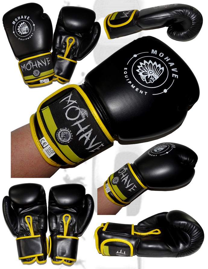 Rękawice bokserskie Mohave Bull nowy model black
