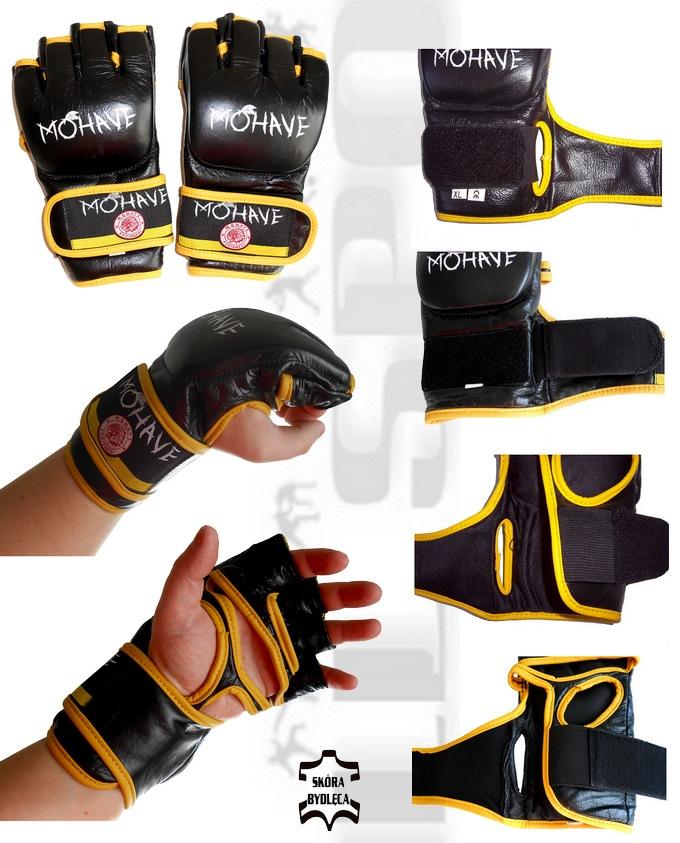 Rękawice MMA skórzane Mohave Storm