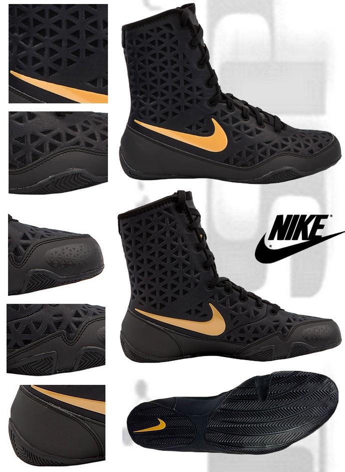 da6867d2e6fe5 Buty bokserskie Nike KO Black, Boxing Shoes Nike Ko Black model 2017