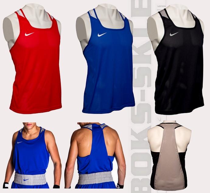 Nike Boxing Vest, Koszulka bokserska Nike, Koszulka do boksu Nike, Nike bezrękawnik bokserski
